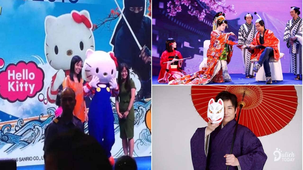 Những màn trình diễn độc đáo đến từ các nghệ sỹ Nhật Bản sẽ diễn ra tại lễ hội Feel Japan in Vietnam 2019