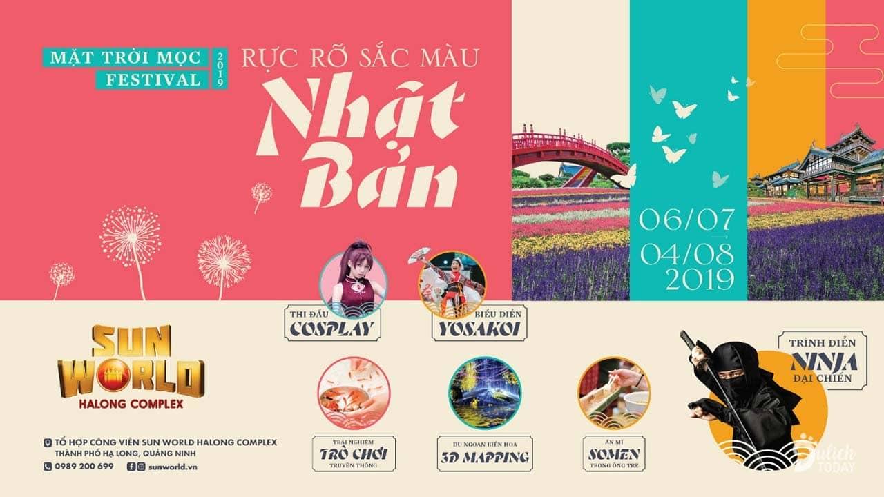 Lễ hội mặt trời mọc 2019 diễn ra tại Sun World Hạ Long Park