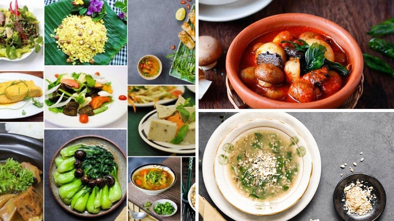 Các món ăn nổi tiếng tại Minh Chay Vegan Hà Nội