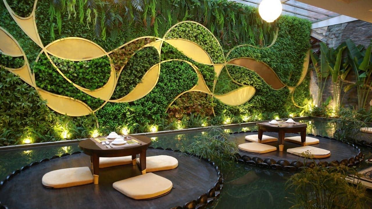 Lựa chọn những nhà hàng có không gian hướng tới sự thanh tịnh nhẹ nhàng