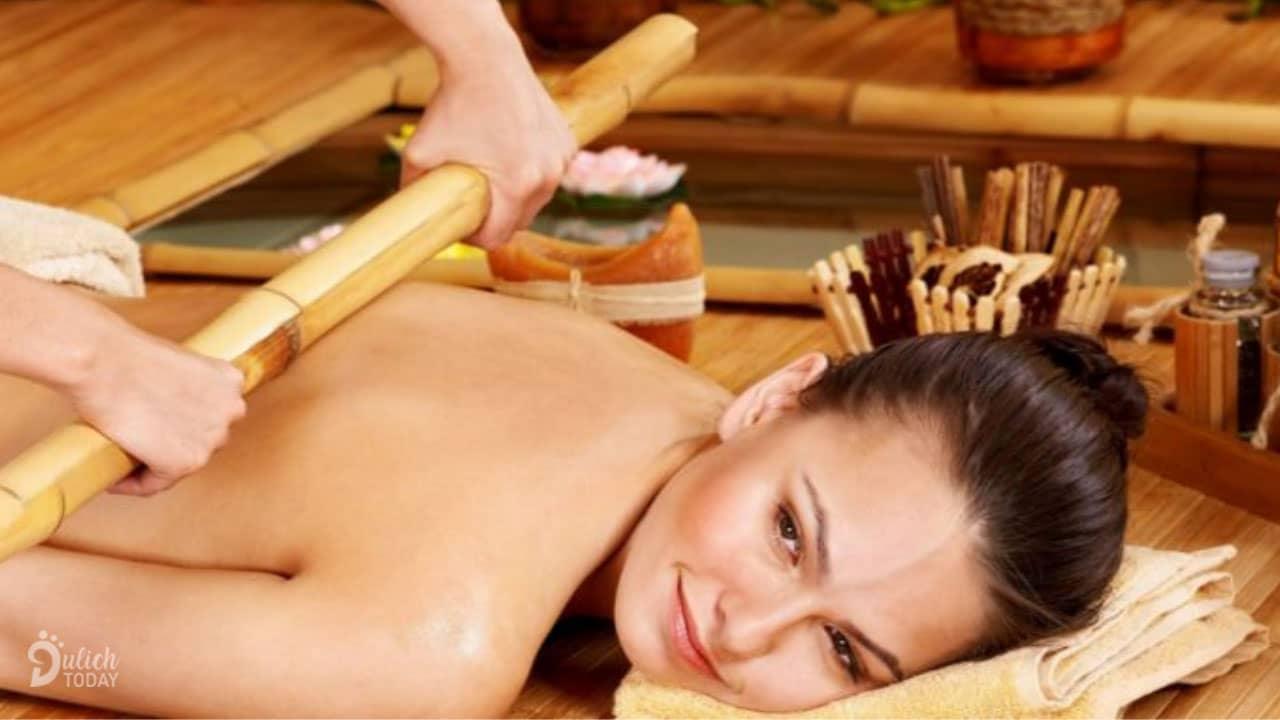Queen Spa là spa uy tín tại Đà Nẵng duy nhất massage bằng tre