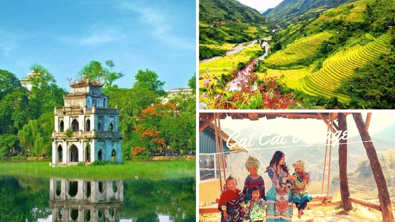 Tour Sapa từ TP Hồ Chí Minh kết hợp thăm quan Hà Nội