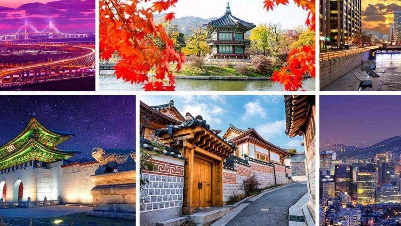 Chương trình tour cũng bắt đầu bằng các điểm du lịch nổi tiếng tại Seoul