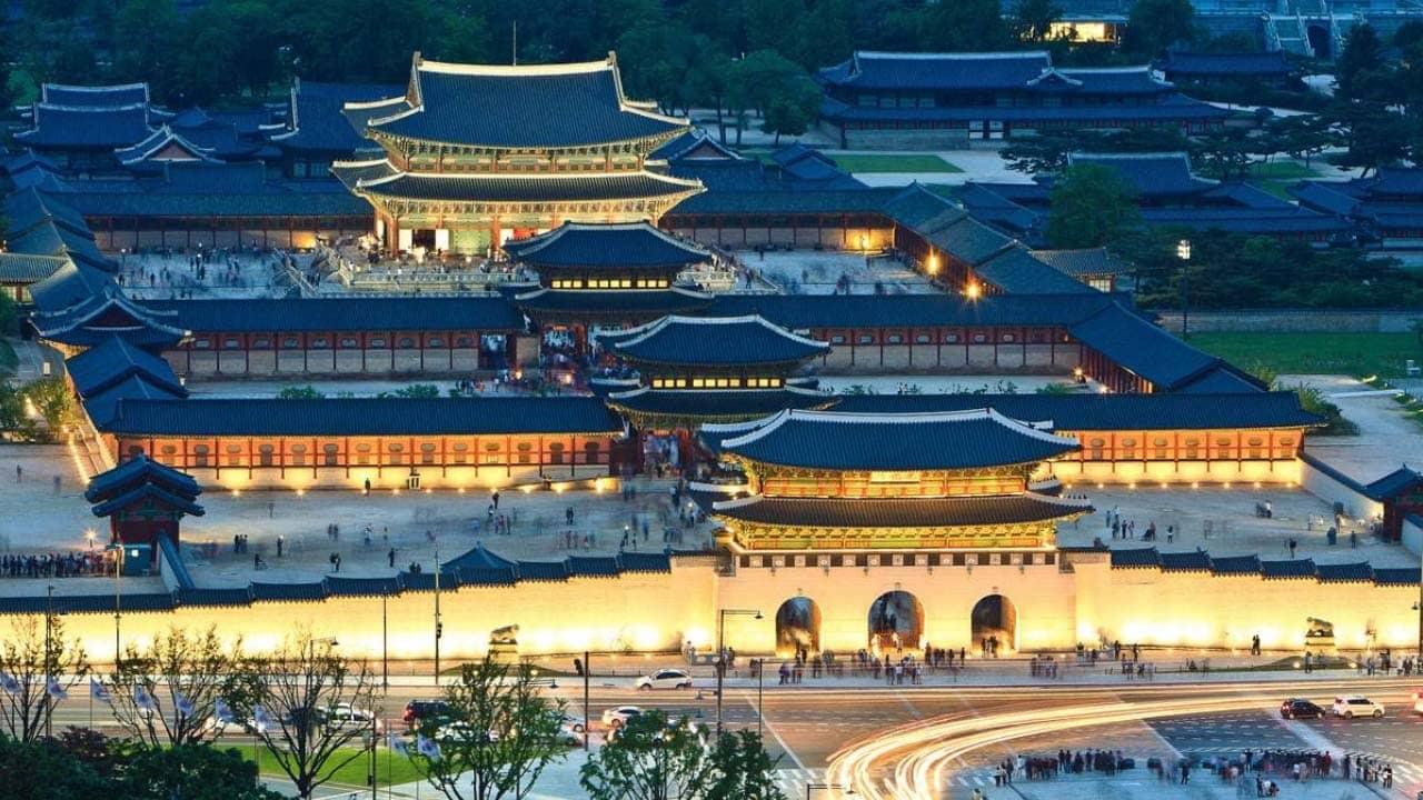 Cung điện Gyeongbok - điểm đến hấp dẫn trong tour