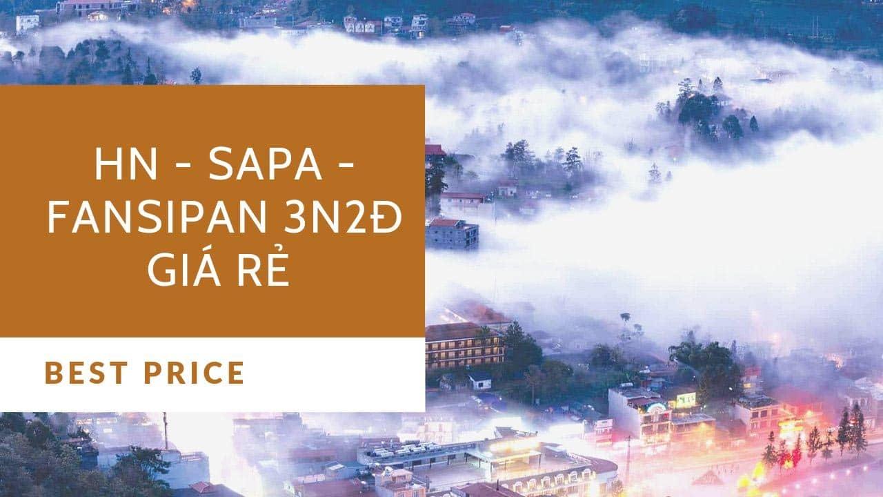 Tour Sapa - Cáp treo Fansipan 3N2Đ với mức giá rẻ chỉ từ 2.500.000 vnđ/tour khởi hành từ Hà Nội