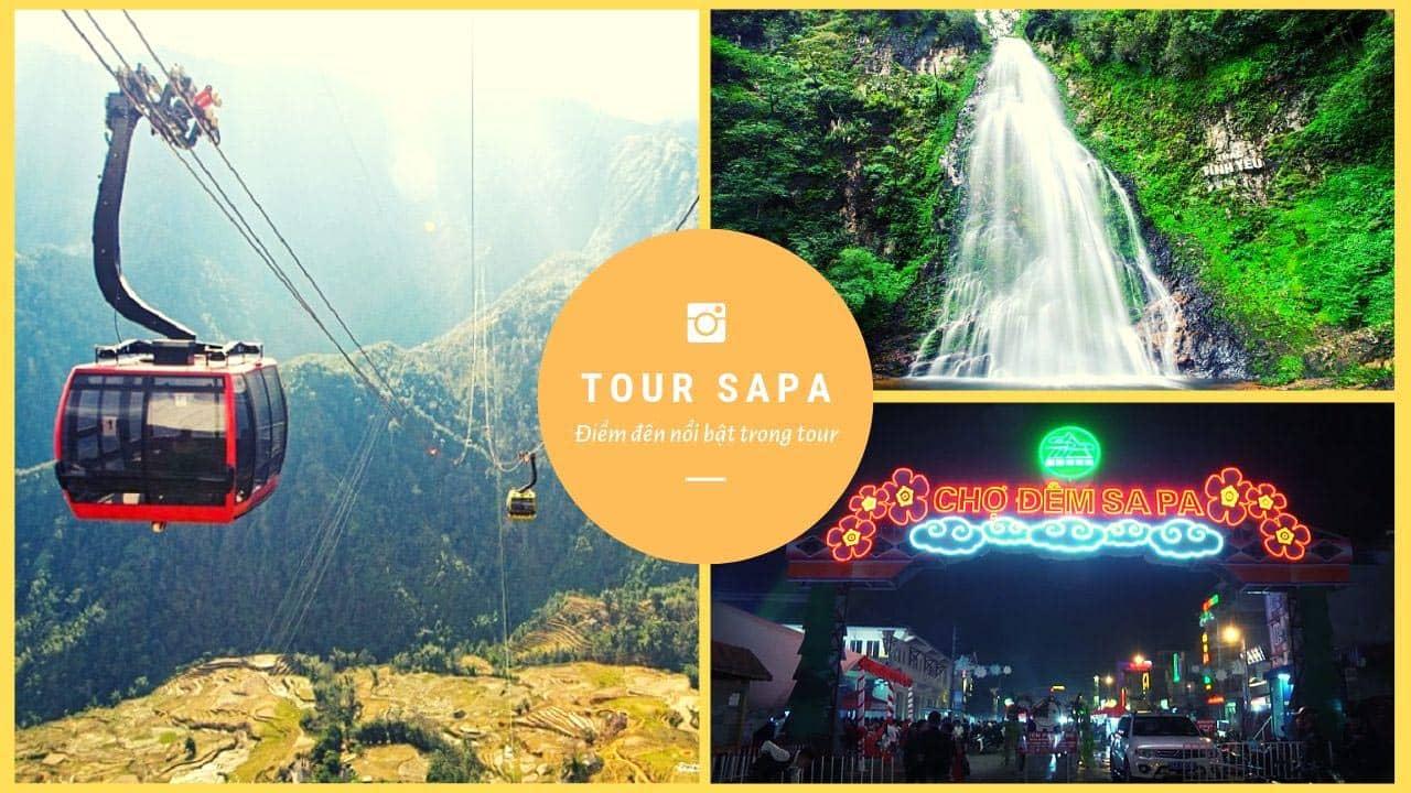 Chinh phục nóc nhà Đông Dương - đỉnh Fansipan, tham quan thác tình yêu, chợ đêm Sapa là những điểm nổi bật trong chương trình tour