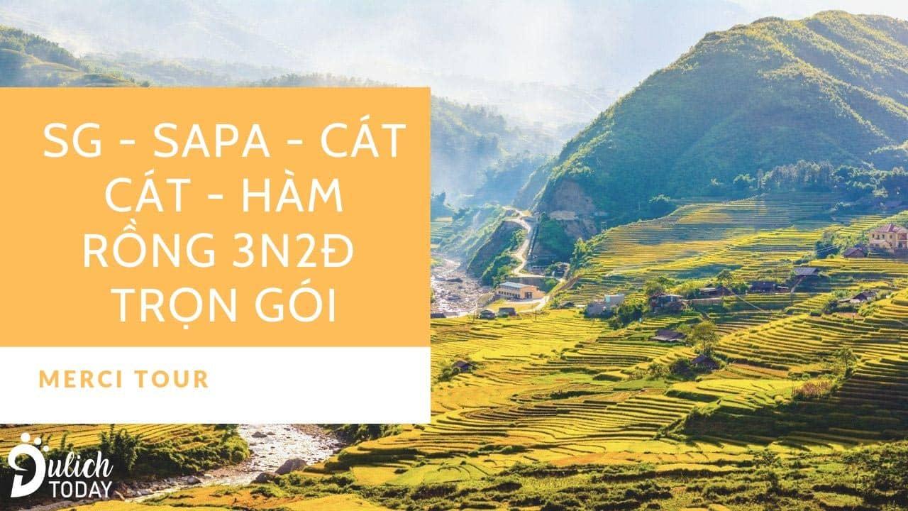Tour Sapa 3 ngày 2 đêm của Merci Tour giúp du khách cảm nhận rõ nét vẻ đẹp của núi rừng Tây Bắc