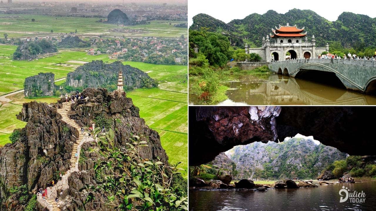 Tam Cốc Ninh Bình với những danh thắng tâm linh và hệ thống hang động tuyệt đẹp