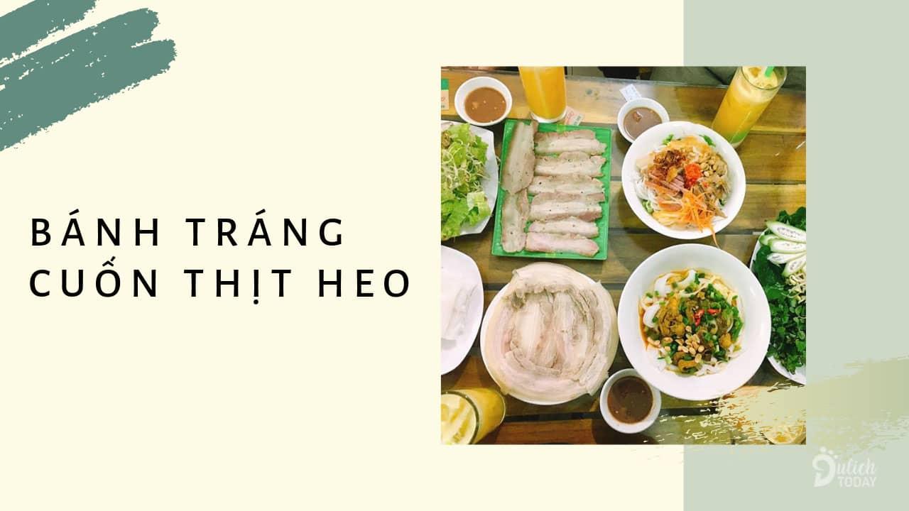 Bánh tráng cuốn thịt heo – đặc sản trứ danh của Đà Nẵng.