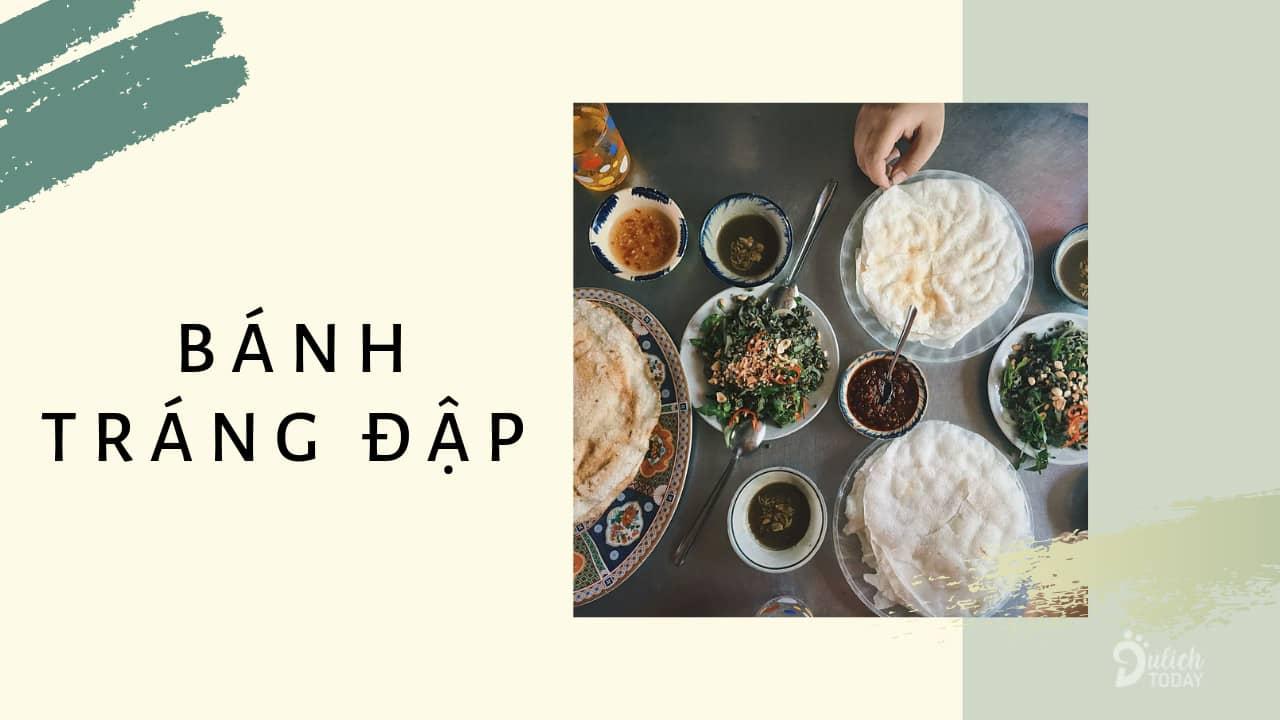 Bánh tráng đập - món ăn vặt Đà Nẵng dân dã