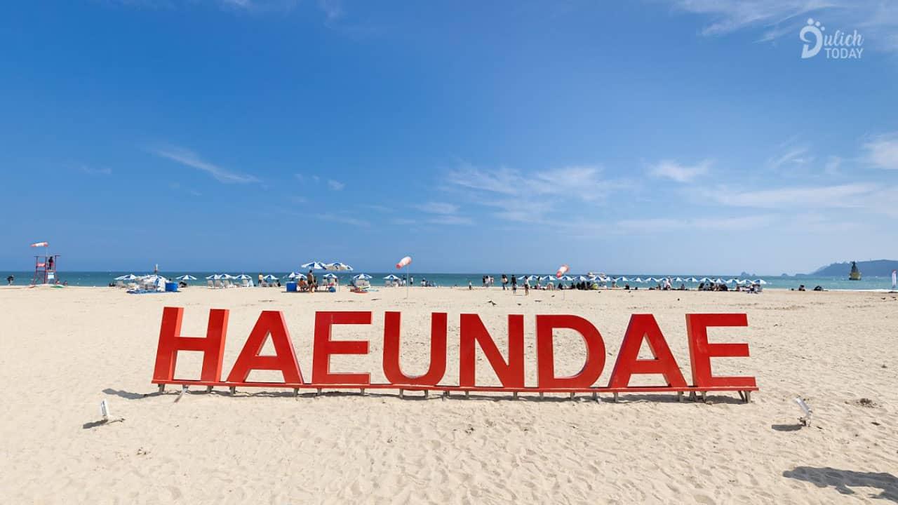 Thiên đường biển đẹp nhất Hàn Quốc - biển Haeundae