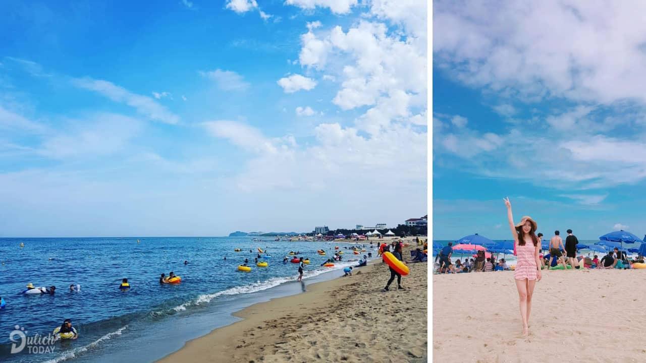 Biển Naksan - địa điểm du lịch Hàn Quốc lãng mạn, thơ mộng
