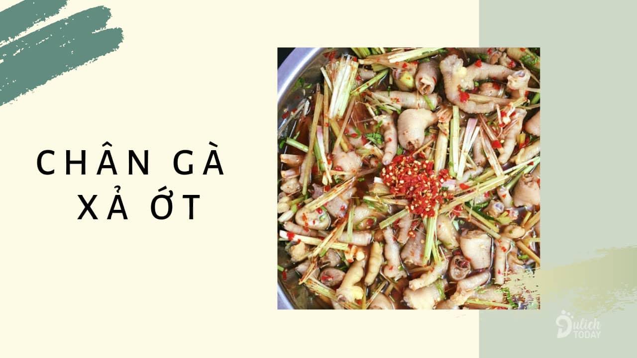 Món ăn vặt Đà Nẵng gây nghiện với bất kỳ ai - chân gà sả ớt