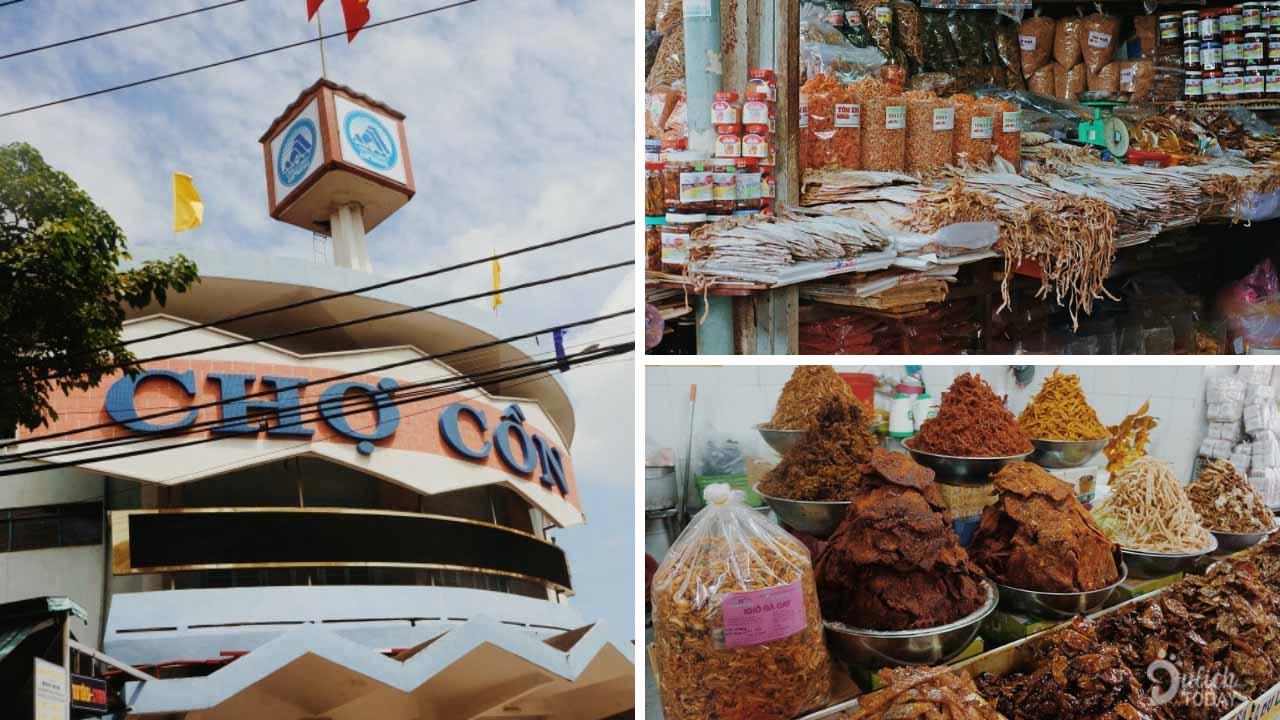 Chợ Cồn - thiên đường ẩm thực thu nhỏ phải tới khi du lịch Đà Nẵng 3 ngày 2 đêm