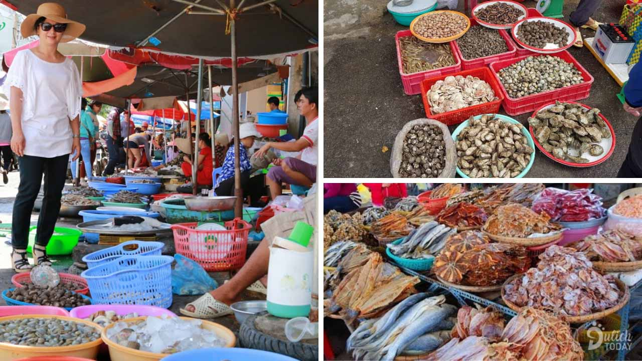 Chợ Phú Lộc - chợ hải sản Đà Nẵng đa dạng các hải sản ngon rẻ
