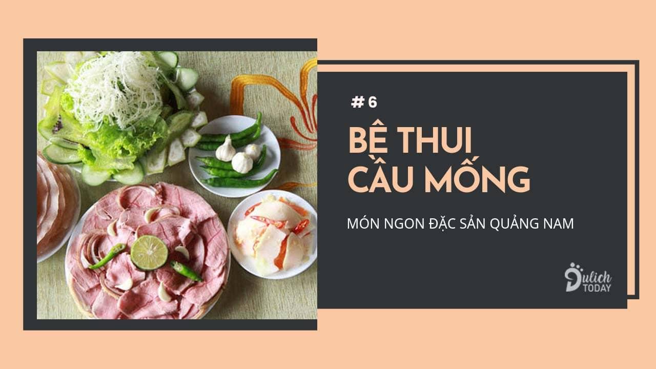 Đặc sản Quảng Nam bê thui Cầu Mống giòn vỏ mềm thịt ăn hoài không ngán