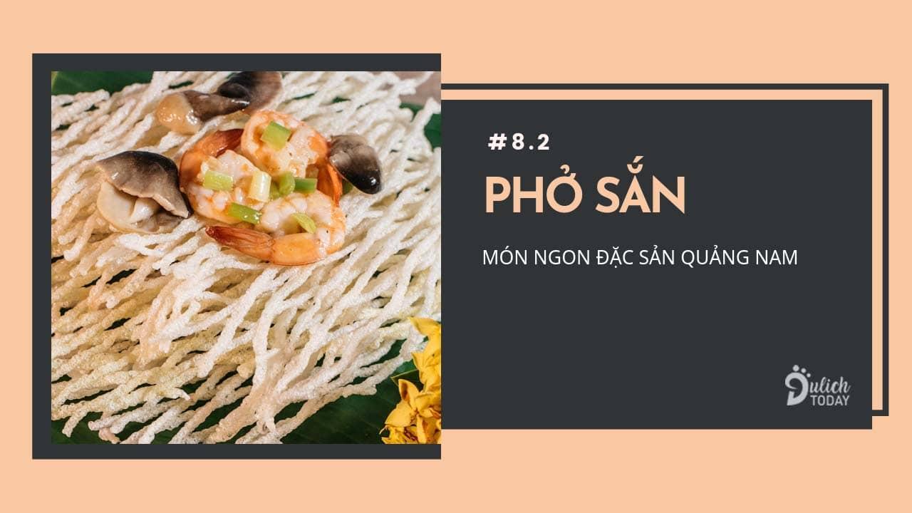 Phở sắn - đặc sản Quế Sơn Quảng Nam