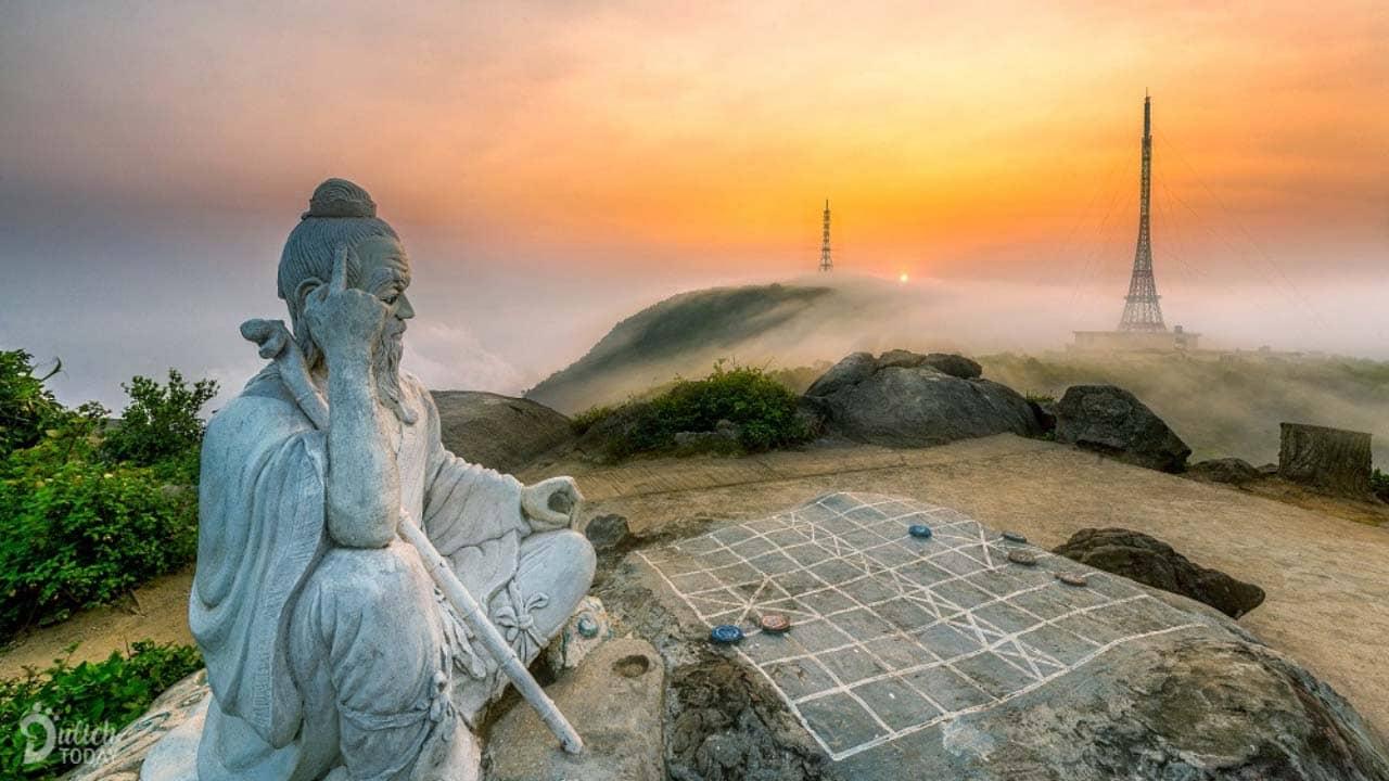 Ngắm toàn cảnh Đà Nẵng từ trên cao tại đỉnh Bàn Cờ