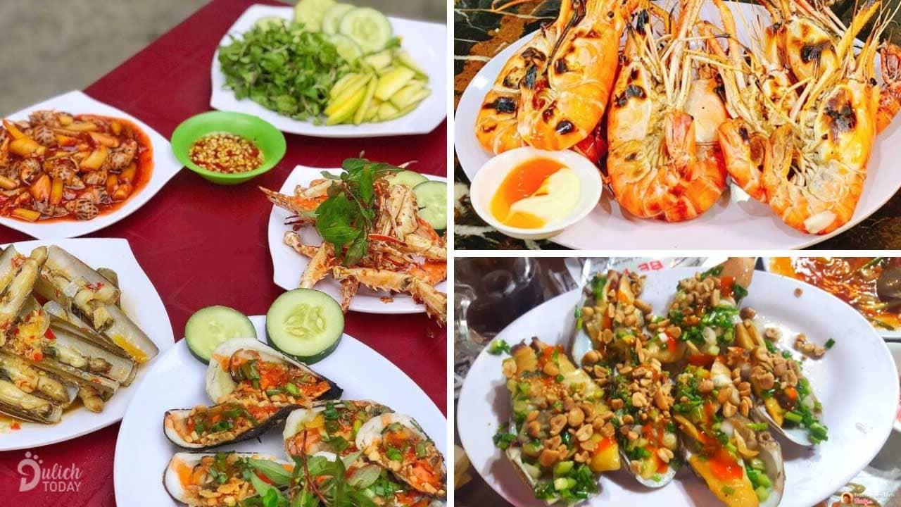 Một trong những quán hải sản lâu đời nhất Đà Nẵng - hải sản Bé Anh