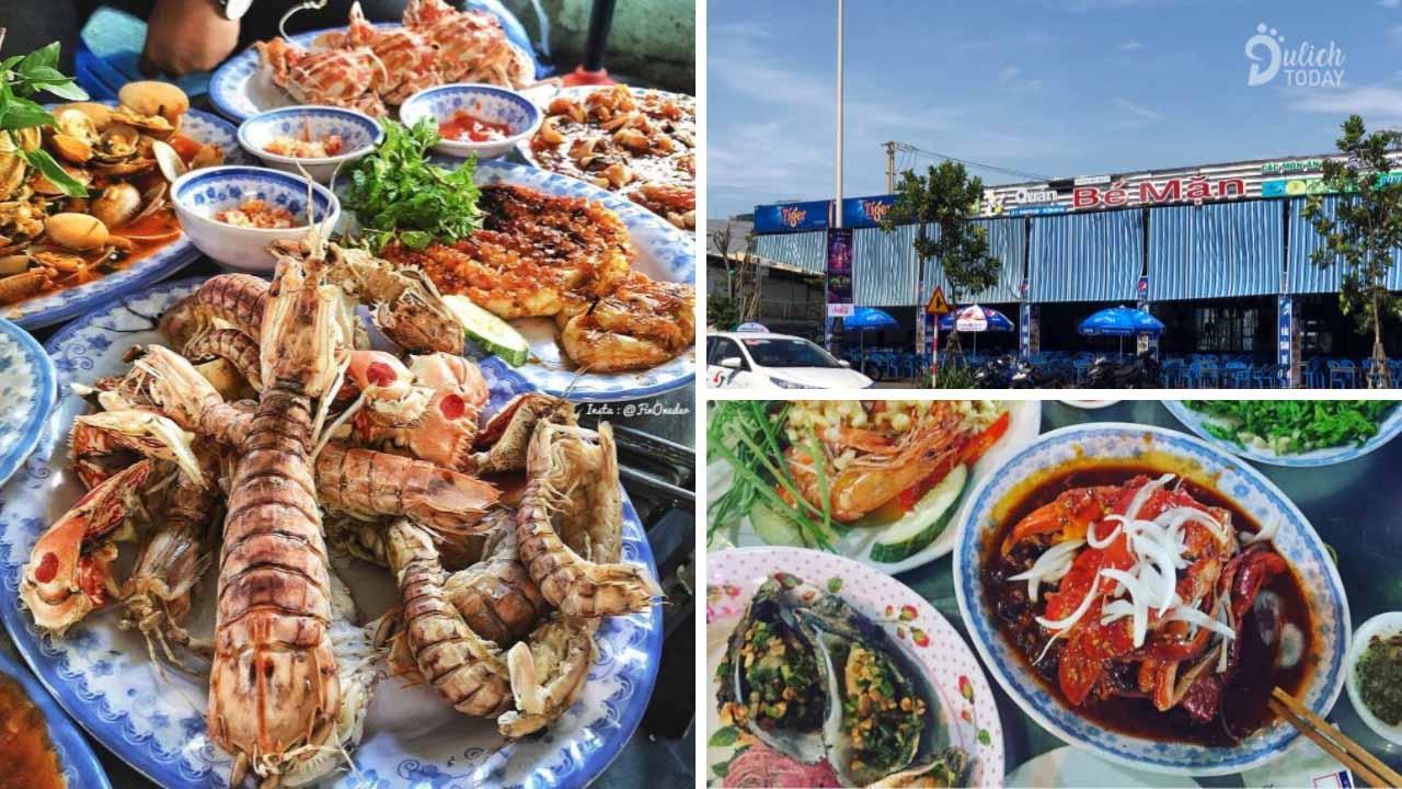 Hương vị biển thấm nhuần ở cái tên - nhà hàng Bé Mặn