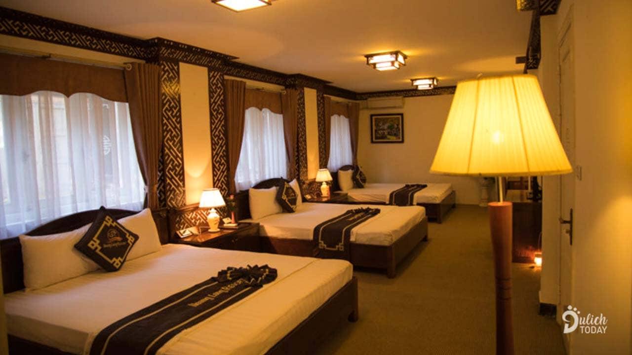 Phòng nghỉ hiện đại ở khách sạn Mango