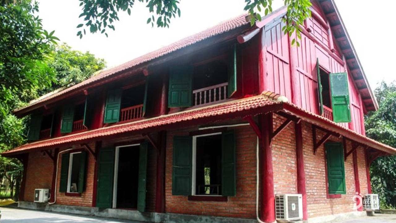 Khu vực nhà sàn Thái tại Hoàng Long Resort