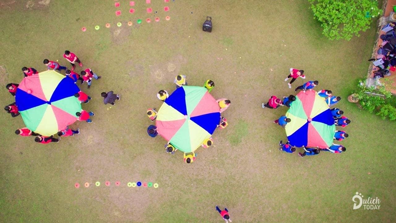 Team Building tại Hoàng Long Resort