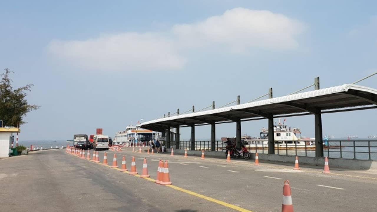 Bến Phà Gót - địa điểm thuê tàu thăm vịnh Lan Hạ