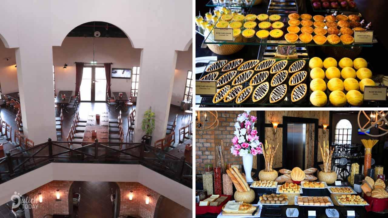 La Lavande Restaurant gây ấn cho du khách bởi ẩm thực ba miền thơm ngon, nóng hổi