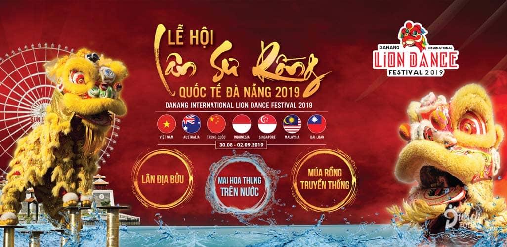 Lễ hội Lân sư rồng Quốc tế Đà Nẵng 2019 với sự tham gia của 48 đội từ 7 quốc gia