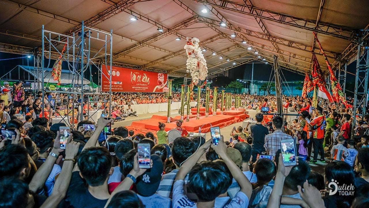 Lễ hội Lân sư rồng Quốc tế Đà Nẵng từng được tổ chức hoành tráng vào năm 2018