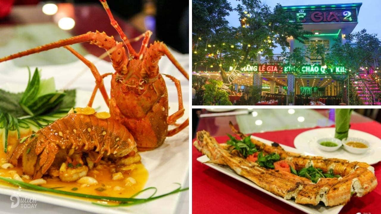 Nhà hàng Lê Gia 2 - không gian hải sản sang trọng
