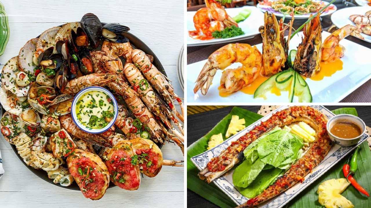 Nhà hàng Ngọc Hương nổi tiếng về sự tinh tế cũng như hương vị của món ăn.
