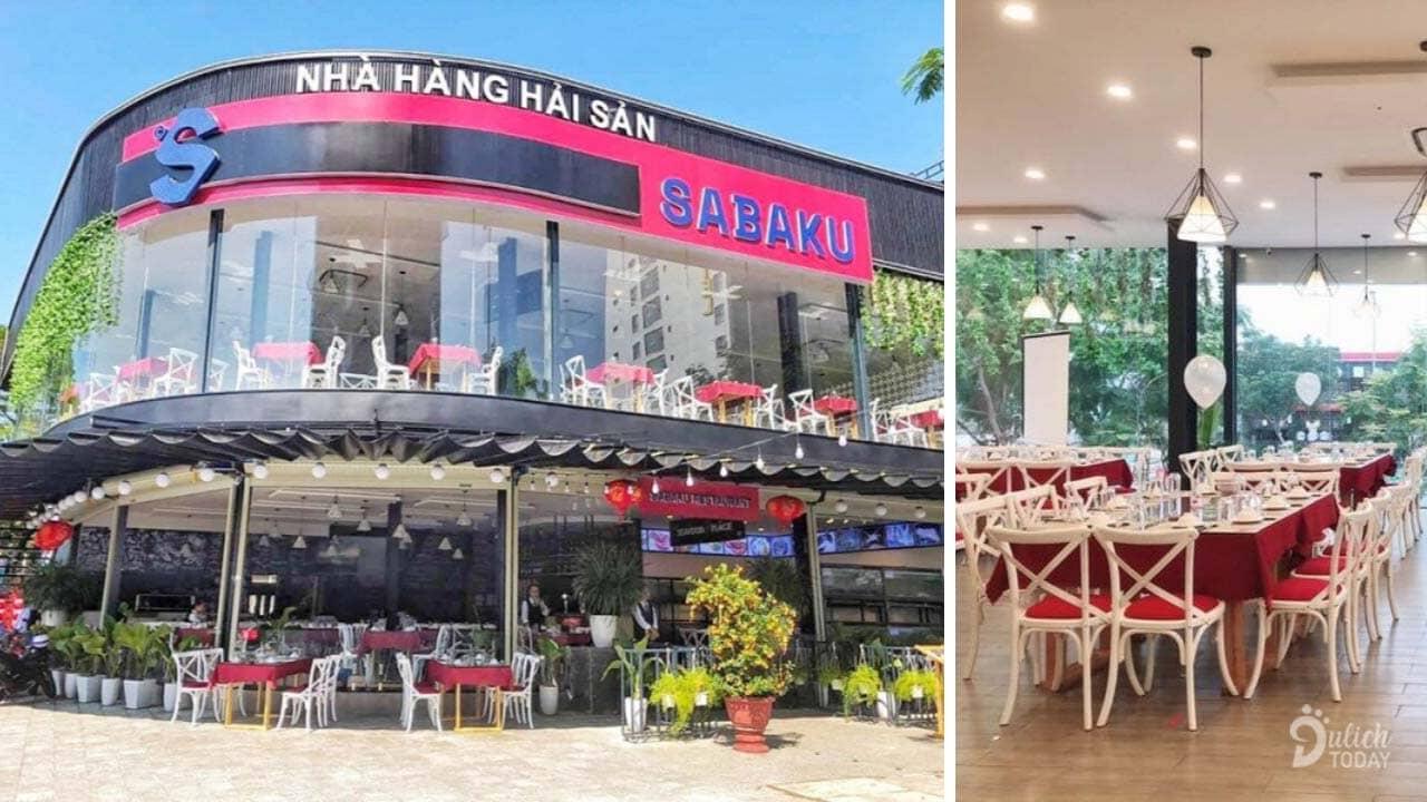 Nhà hàng hải sản Sabaku là một nhà hàng hải sản Đà Nẵng tươi ngon với không gian và thiết kế vô cùng hiện đại.