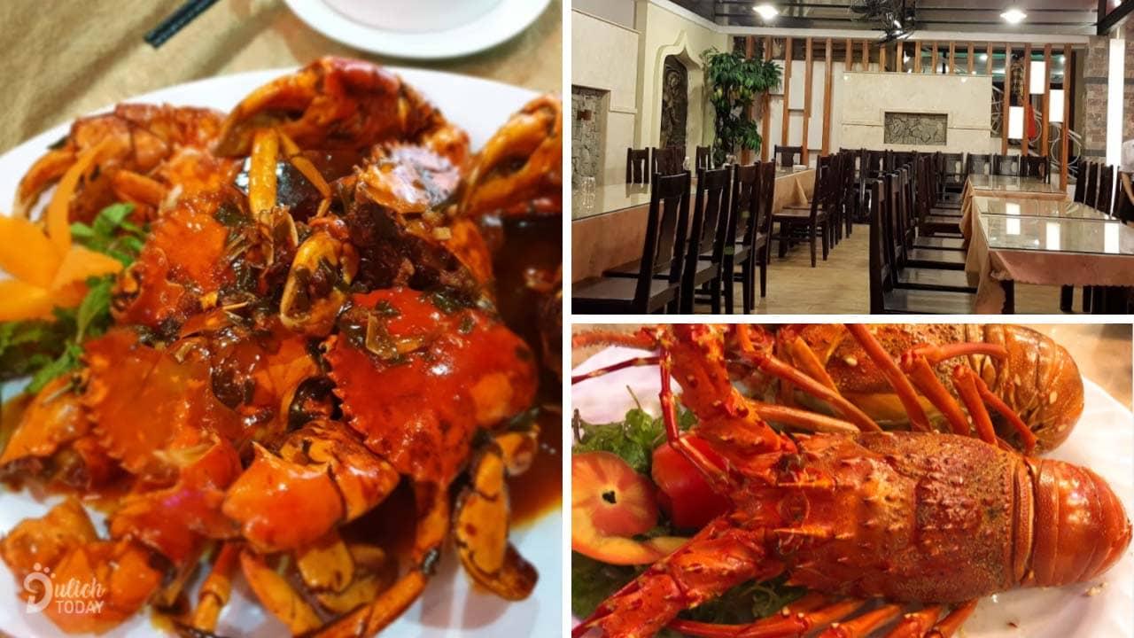 Trung Gia - nhà hàng hải sản Đà Nẵng có không gian ẩm thực lý tưởng