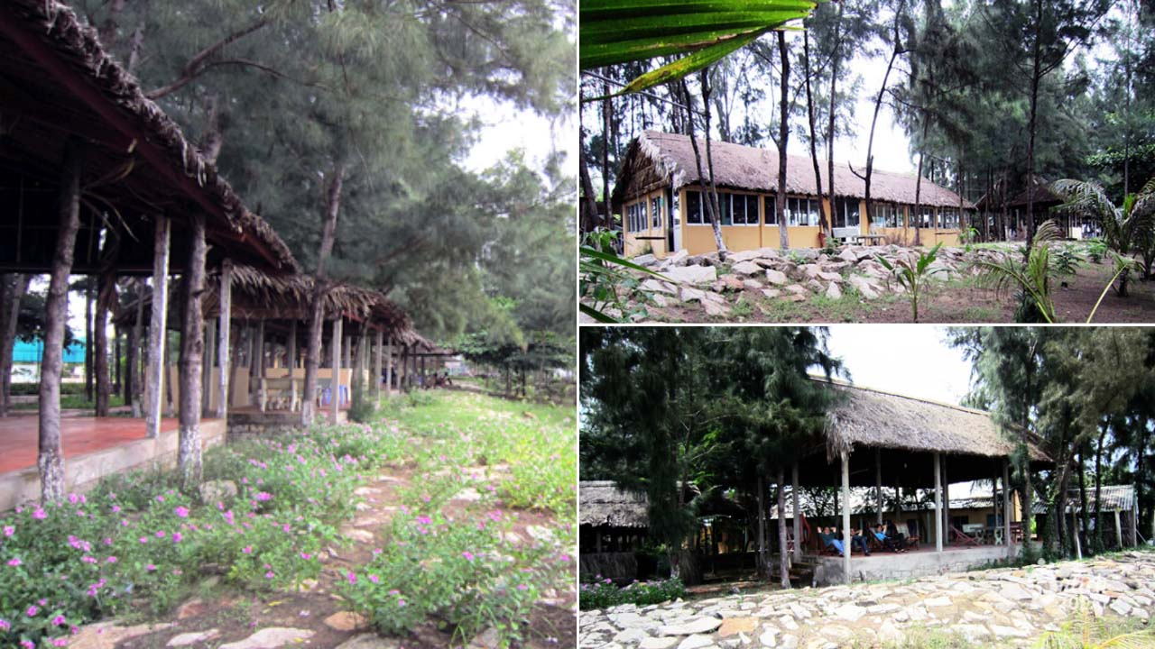 Kỳ Nam Resort tại Cần Giờ phong cách nhà Rông Tây Nguyên