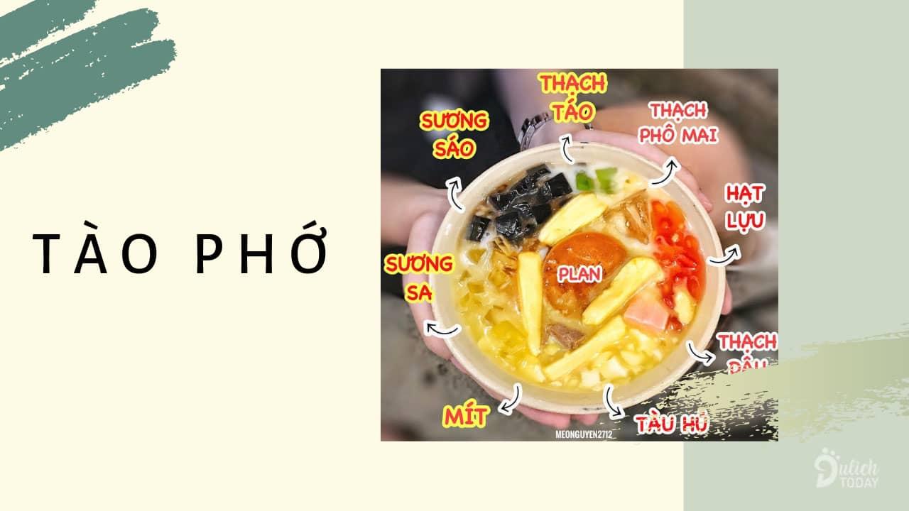 Tào phớ - món ăn vặt Đà Nẵng giải khát đánh tan nóng nực