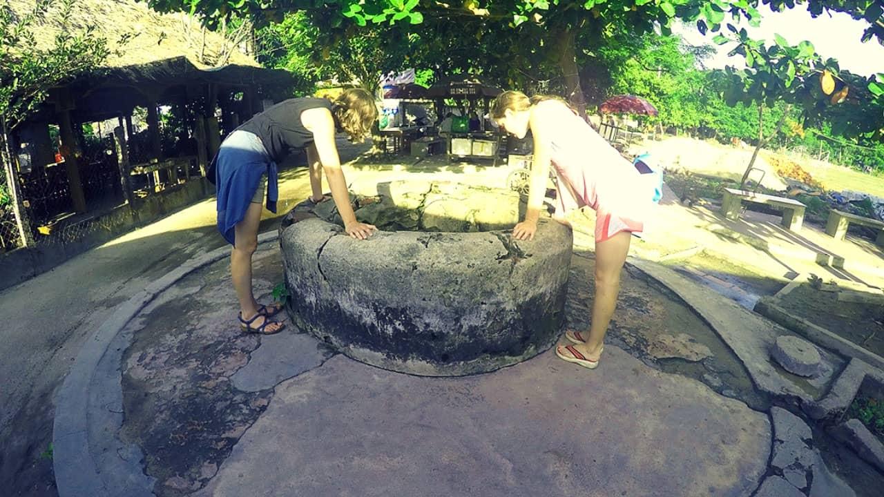 Giếng cổ Chăm Pa trên đảo Cù Lao Chàm