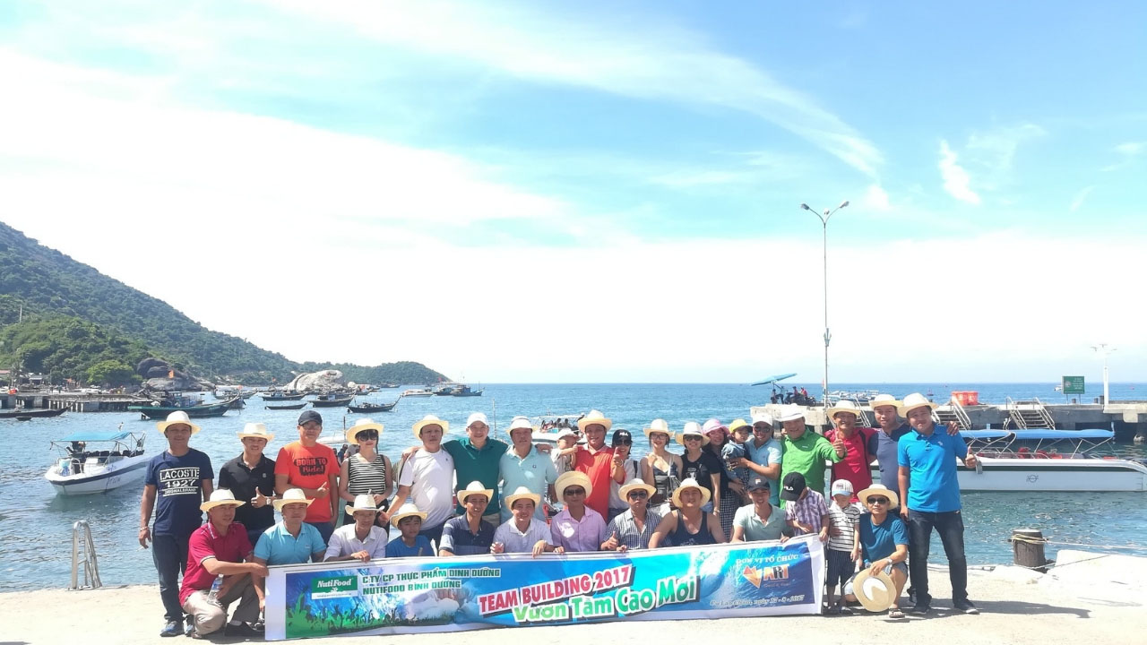 Tour Cù Lao Chàm kết hợp team building