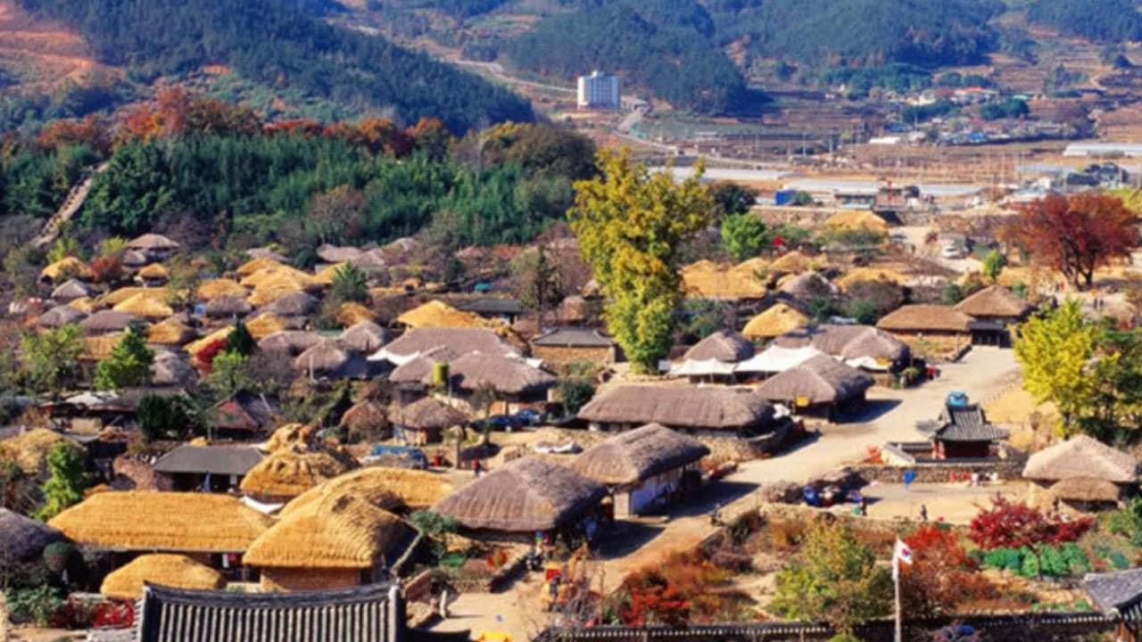 Tham quan làng dân tộc Seongup nơi nàng Dae Chang Keum học nghề y