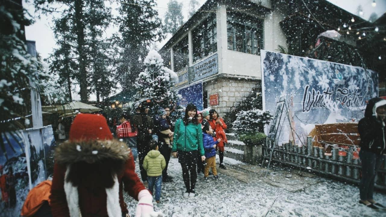 Thử một lần đón Giáng Sinh trong tuyết trắng tại Hàn Quốc