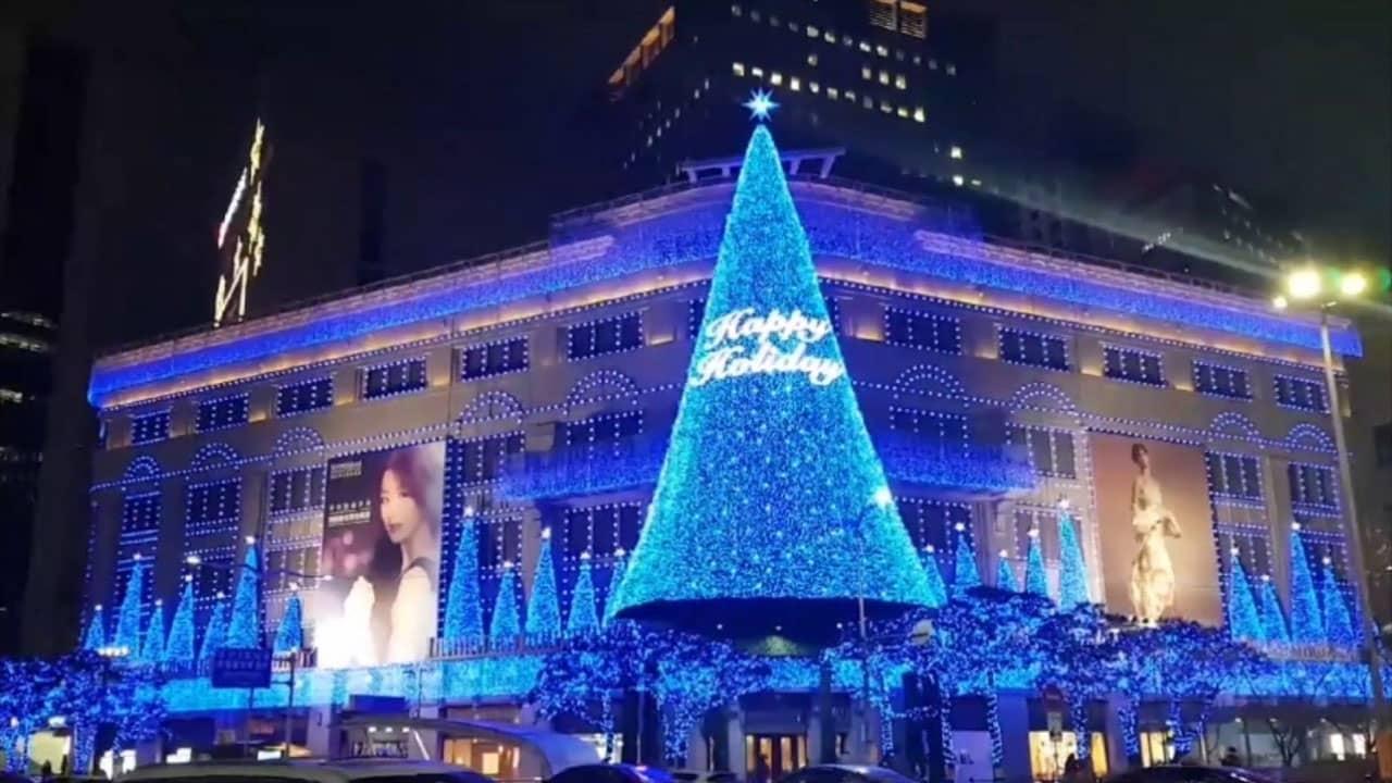 Tour Hàn Quốc tháng 12 đón giáng sinh