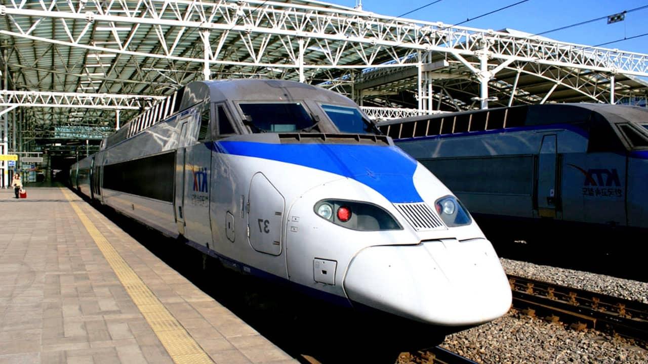 Du khách sẽ trải nghiệm tàu KTX từ Busan đến Seoul