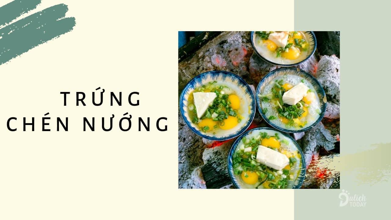 Trứng chén nướng là món ăn vặt Đà Nẵng thơm ngon, béo ngậy nổi tiếng với du khách.