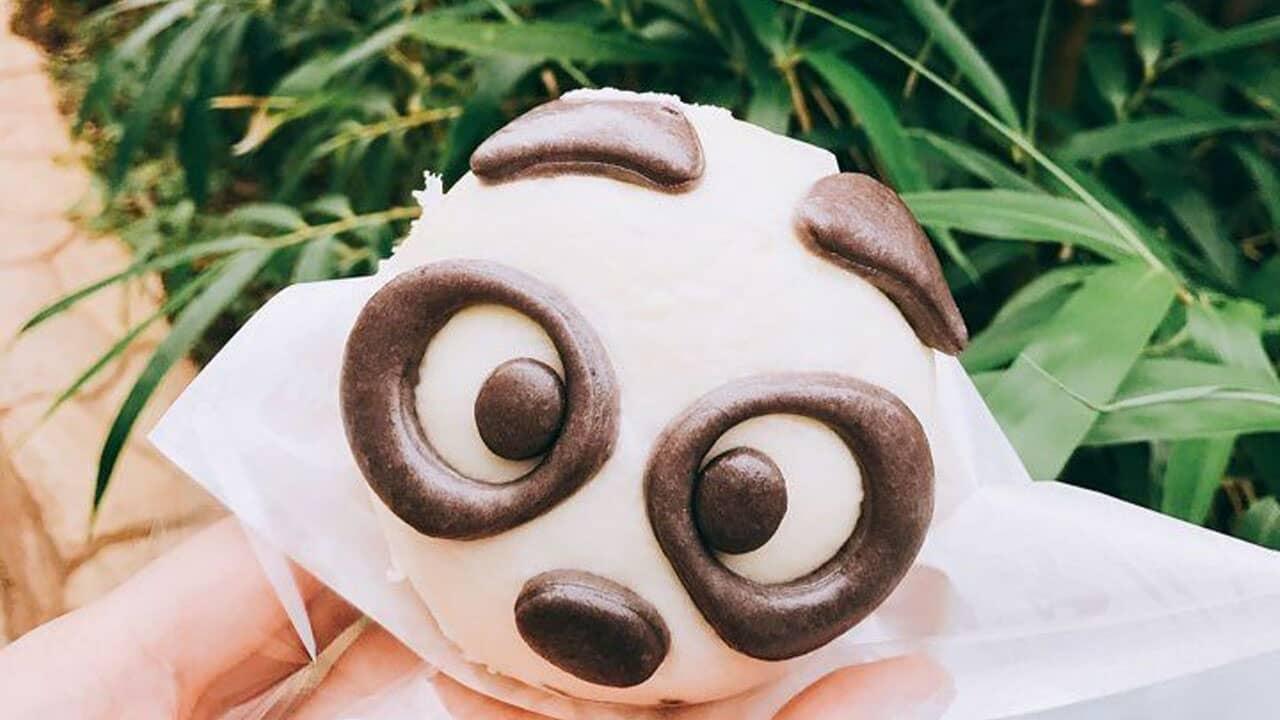 Món ăn dễ thương nhất tại công viên Everland - bánh gấu trúc