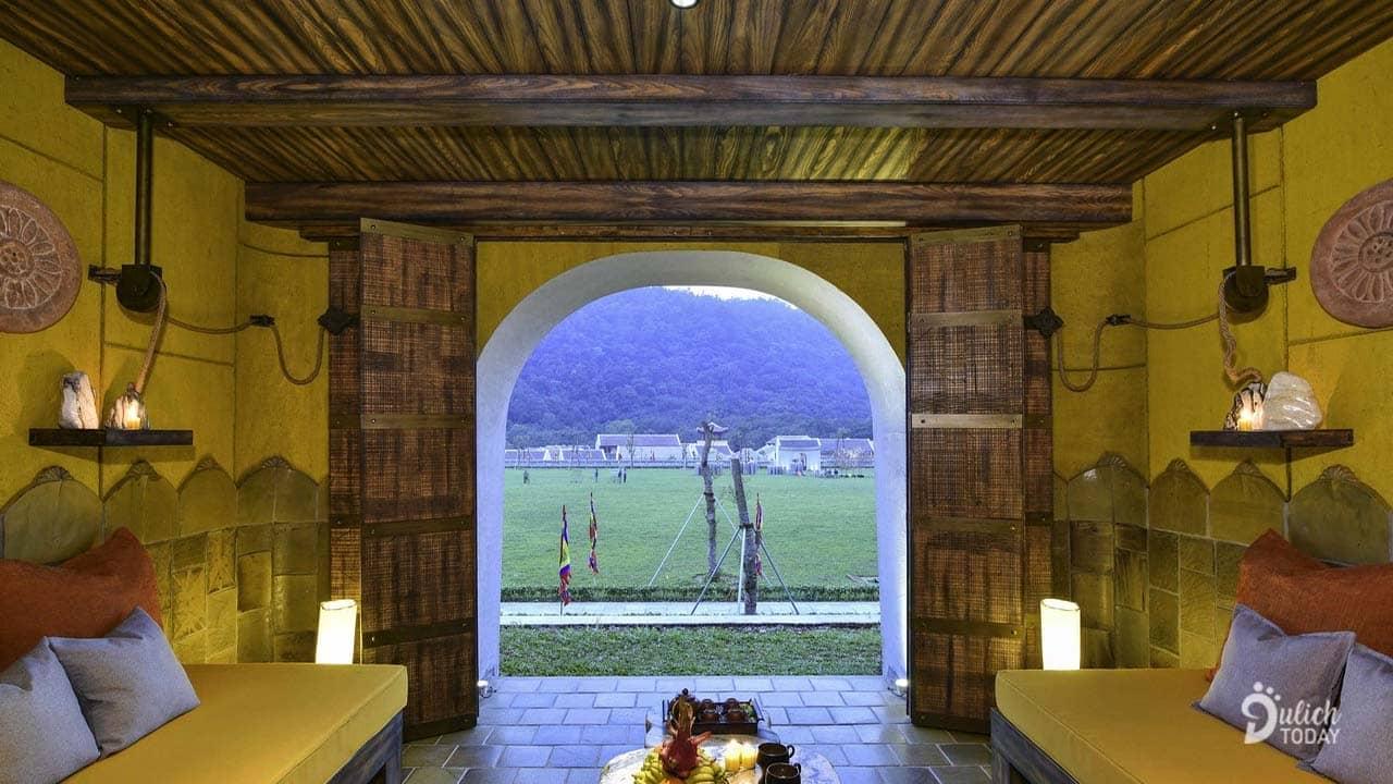 View đẹp từ phòng nghỉ của Legacy Yên Tử