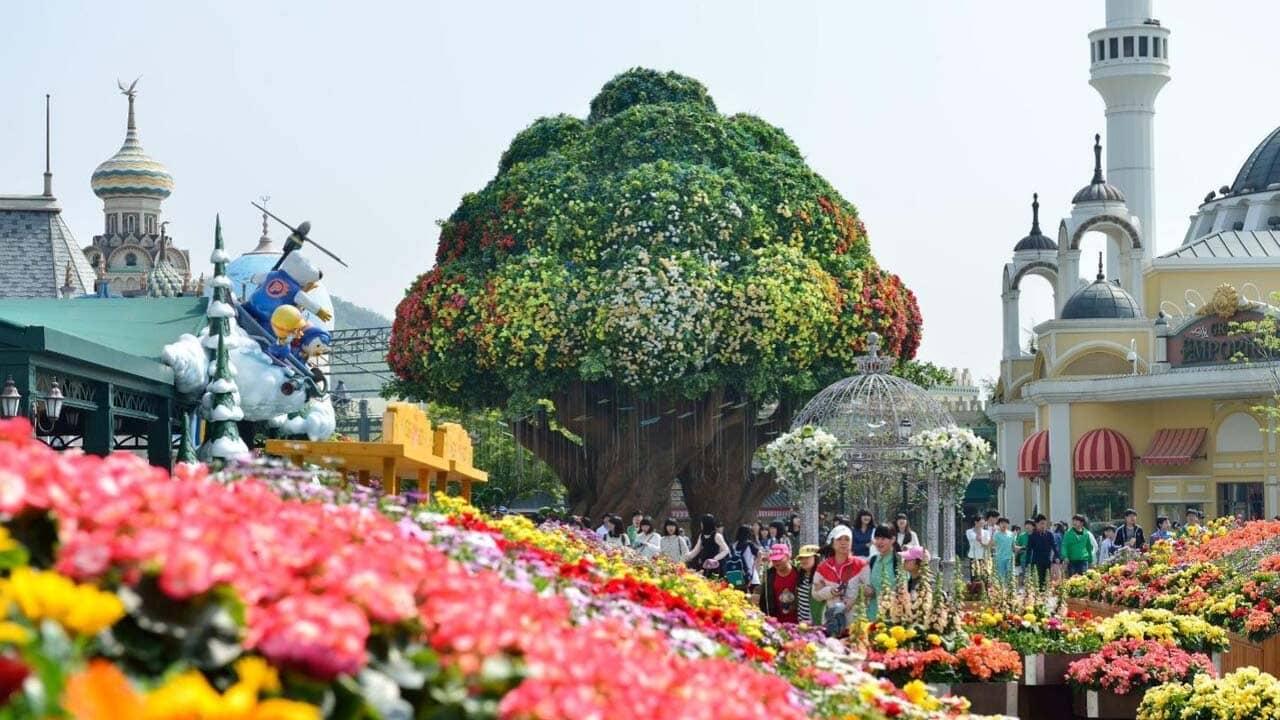Global Fair - hội chợ toàn cầu lộng lẫy chỉ có tại công viên Everland