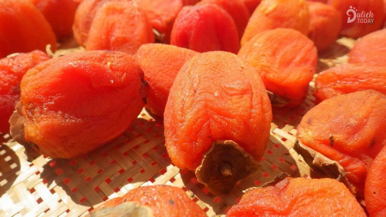 Hồng dẻo - đặc sản thần thánh của mùa thu