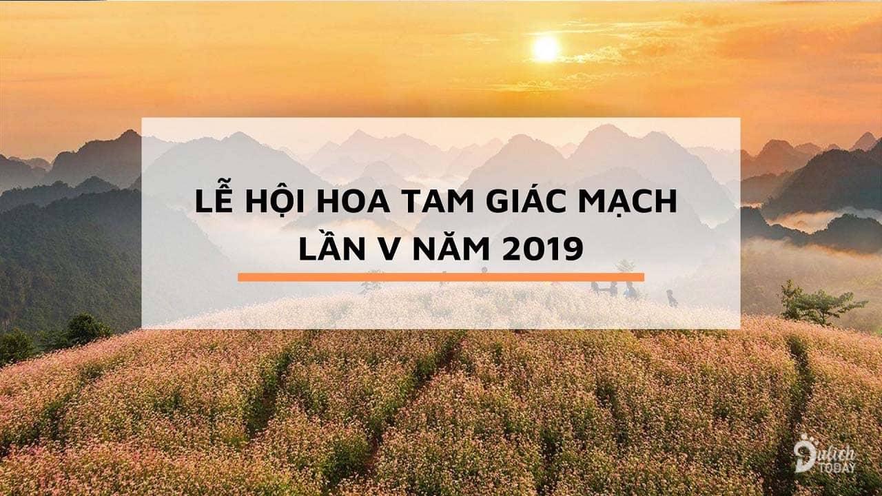 Những nét mới của lễ hội hoa tam giác mạch 2019