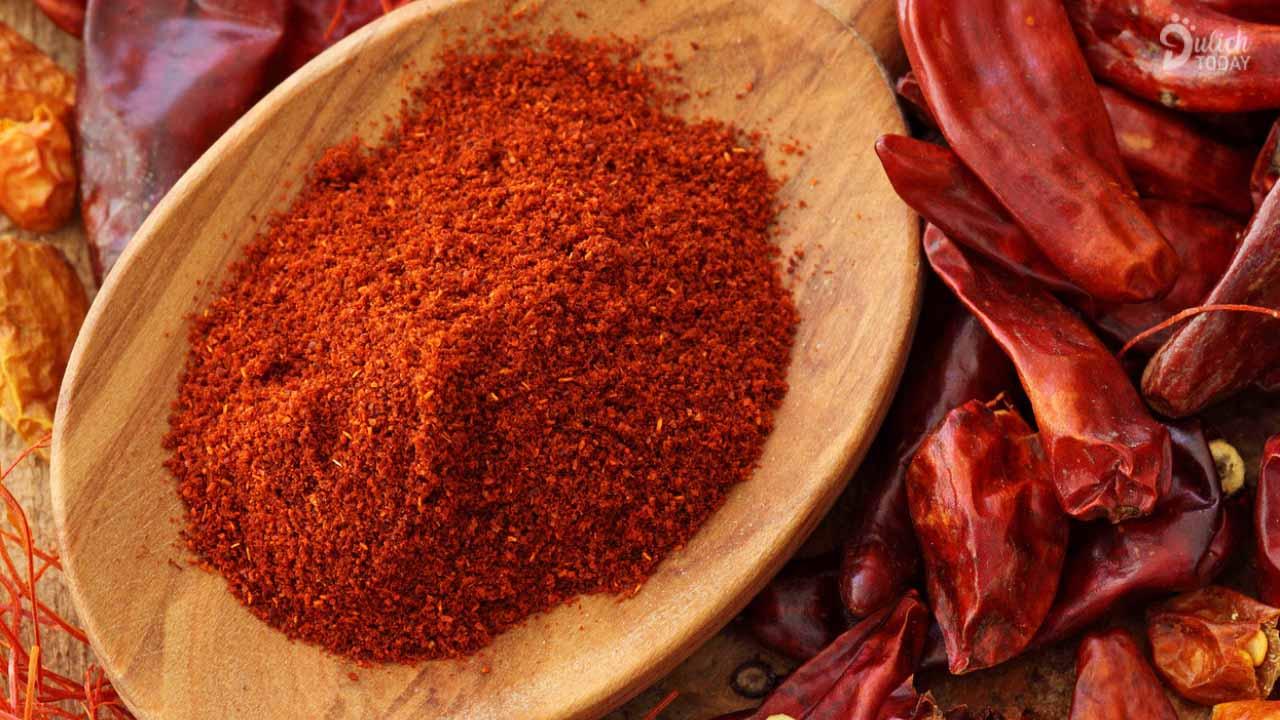 Đừng quên mua bột ớt Hàn Quốc - gia vị cực kỳ hấp dẫn cho các món ăn
